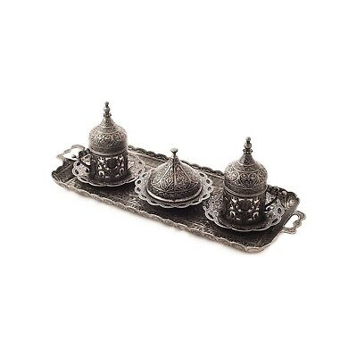 Arabic Turkish Coffee Serving Cup Saucer Serving  gift set