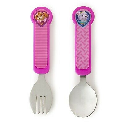 Munchkin Paw Patrol Fork & Spoon - For Toddler Feeding
