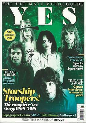 Yes - The Uncut Ultimate Music Guide Magazine...new...fast Post