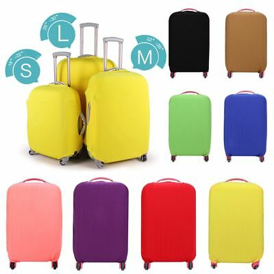 18-30 inch Dust-proof Candy Color Suitcase Cover Baggage Protector