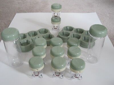 Magic Bullet BABY BULLET 28 PC Baby Food Storage 11 jars, 2 trays, 2 To-Go Tubes