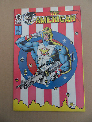 The American  1 . Dark Horse . 1987 . VF - minus