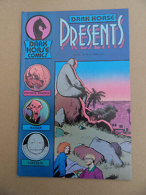 Dark Horse Presents 12 . Concrete App .Dark Horse 1987 . VF - minus