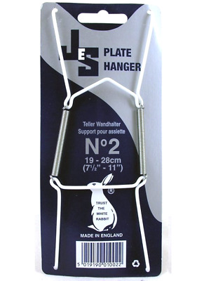 Wire Plate Hangers No. 2 19-28CM 7.5 -11  Wall Display  sc 1 st  PicClick UK & WIRE PLATE HANGERS No. 2 19-28CM 7.5