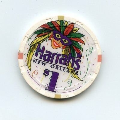 1.00 Chip from the Harrahs Casino in New Orleans Louisiana