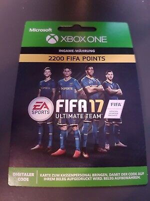 Xbox One - FIFA 17 Ultimate Team - 2200 Points Code - 2,200 FUT Point [EU]