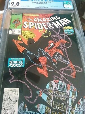 Amazing Spiderman #310 Cgc 9.0 Vf/nm Wp Just Graded