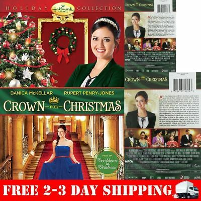 , A Crown For Christmas Dvd - Single Disc Edition - New Unopened - Hallmark!