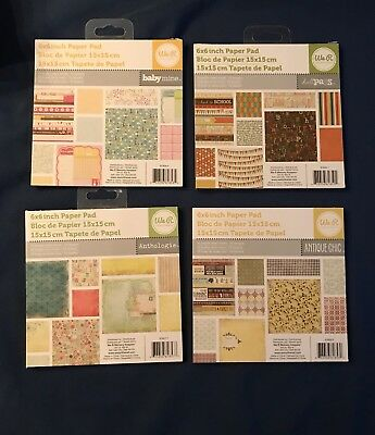 We R Memory Keepers 6 x 6 assorted paper pads