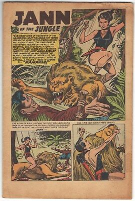 Jungle Tales # 1 ~ September, 1954 ~ coverless, otherwise complete ~ Origin Jann