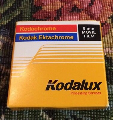 Kodak Ektachrome 8mm Color Movie Film Cartridge Exp.?