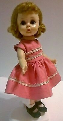 Vintage 1950's Madame Alexander Doll Alexanderkins Blonde walker