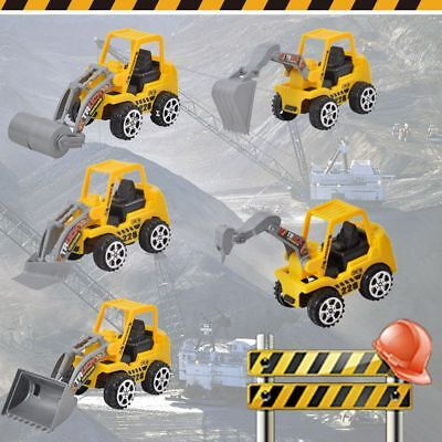 6 Types Engineering Car Kids Gift Construction Vehicle Toy Truck Model