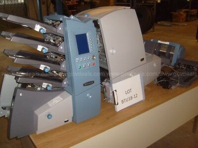 Pitney Bowes DI500 Document Inserter w/ DIVS Vertical Power Stacker Direct  Mail