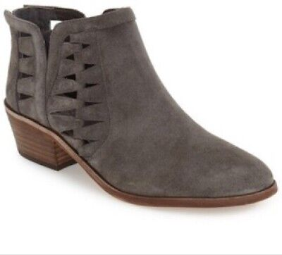 047a3c049ad VINCE CAMUTO PEERA Cutout Bootie Taupe Suede Size 8.5 M -  70.00 ...