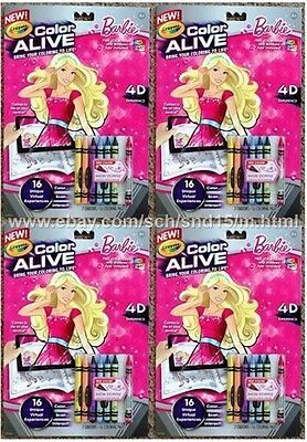 CRAYOLA COLOR Alive Action Barbie Coloring Pages 4D iOS Android ...