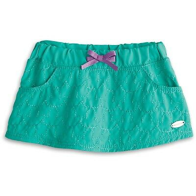 "* AMERICAN GIRL 18"" SKIRT Green Star Quilt with Hanger for doll - NEW IN BAG NIB"