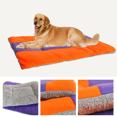 extra large taille Polaire Animal Chat Chien Chiot Lit Tapis Coussin niche