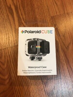 Polaroid Waterproof Shockproof Case for the Polaroid CUBE, CUBE+ HD Action Li...