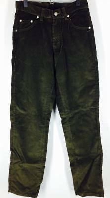 9ce3cd06 Vintage 90's Riveted Lee Corduroy Jeans Green Corduroys Easy Fit NWT (E)