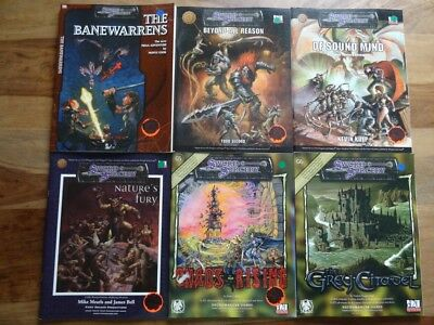 Sword & Sorcery - NEW unused Condition D&D 3rd Edition, d20 System