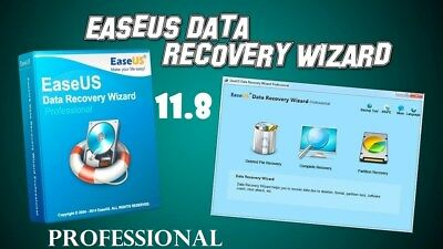 EASEUS DATA RECOVERY 11.8 PROFESSIONAL FULL VERSION 64 Bit on;ly