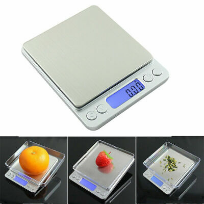 0.01g-500g Electronic Pocket Digital LCD Jewellery Gold Food Weighing Scales Uk
