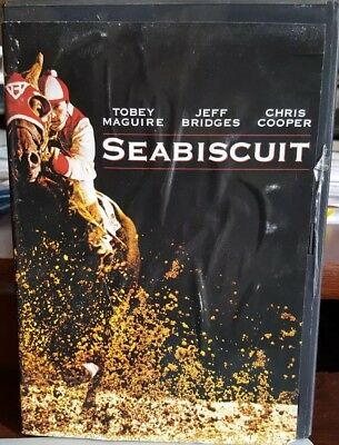 Seabiscuit (DVD, 2003, Full Screen) Tobey Maguire NEW Free Shipping