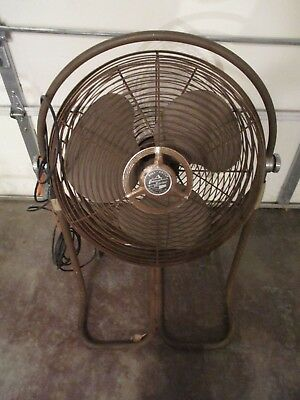 1950's Emerson Electric Circulator Fan *Roll About* (Type 89649-B)