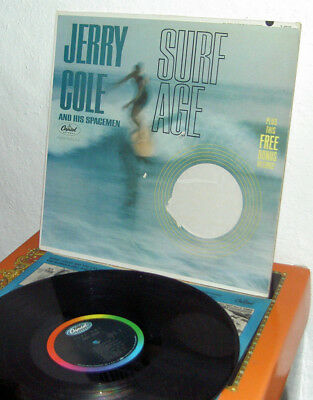 Jerry Cole and his Spacemen - Surf Age  USA 1963  leider ohne Free-Single