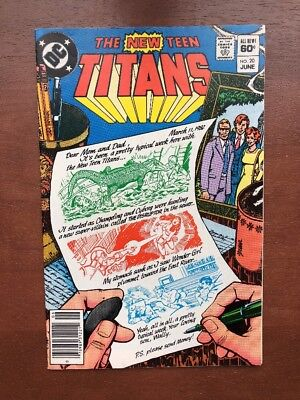 The New Teen Titans #20 (1982) 9.2 NM DC Key Issue Comic Book Newsstand Edition