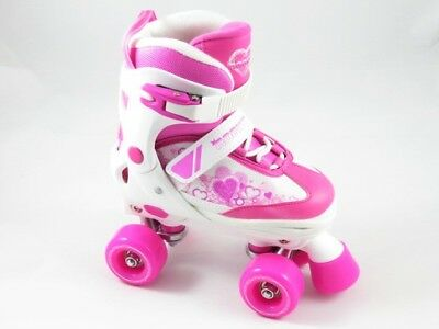 Rookie Pulse Junior Pink/White Rollerskates, Rollschuh, NEU, OVP