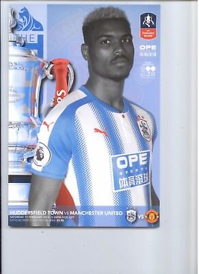 2017/18  - HUDDERSFIELD TOWN v MANCHESTER UNITED (F A CUP)