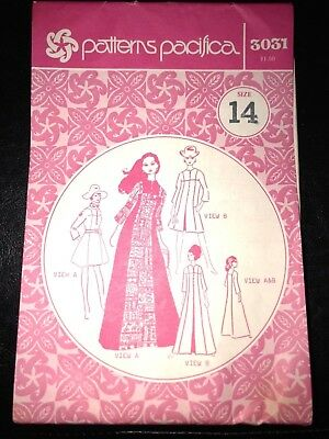 Vintage Patterns Pacifica 3031 -Size 14- New and Uncut