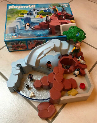 Playmobil 4013 SuperSet Pinguinbecken Zoo wie neu/OVP