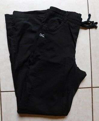 NRG by Barco Scrub Pants / Size Extra Small / Style #3207 / Black