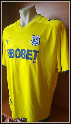 Cardiff City Football Club 09/10 away jersey trikot maglia PUMA Wales League