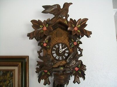 Working Animated Cuckoo Clock made in Germany