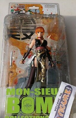 Mon-Sieur Bome Dead Or Alive Sexy Busty KASUMI figure in black by KAIYODO, New