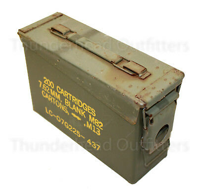 30 CAL AMMO CAN M19A1 7.62mm .30 Caliber USGI Military Surplus FAIR Cond