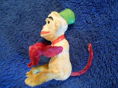 Vintage Monkey with  Pipe Cleaner Legs & Tail