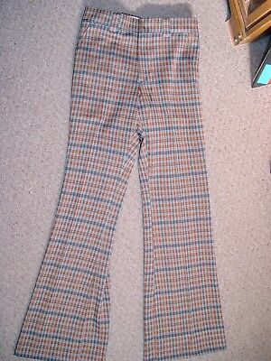 Vtg NOS With Tags 70s Hippie BELL BOTTOM Flare Leg Pants LEVI'S PANATELA W29 L33