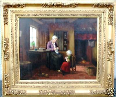 HOLLAND - OLD DUTCH INTERIOR - by A. MULDER - DUTCH -       OFFER: FREE SHIPPING