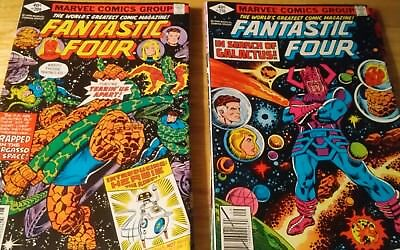 The Avengers and the Fantastic Four lot 12 comic books