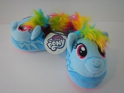Girls Toddler Size S M My Little Pony Cozy Slippers