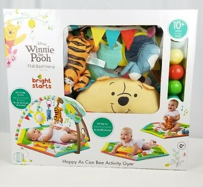 Disney Baby Winnie The Pooh. Happy As Can Bee Activity Gym. Ball Play Fun Pit.