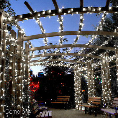 100m Christmas Fairy Party String Lights Outdoor Garden Tree Light 500 LED White