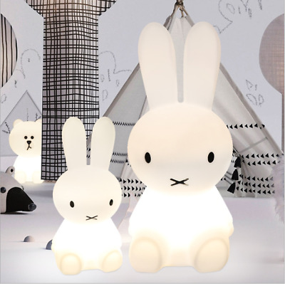 Miffy Rabbit Color Change LED Night Light Character Remote Lamp for Baby Toddler