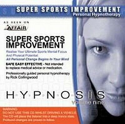 Super Sports Improvement  CD - Hypnosis to Improve Any Type of Sport