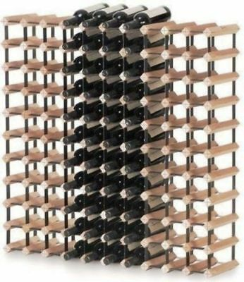 Monterey 110 Bottles Solid Timber Wooden Wine Rack Holder Storage Cellar Kit NEW